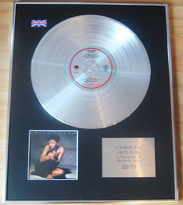 ANITA BAKER -  CD Platinum Disc -  RAPTURE