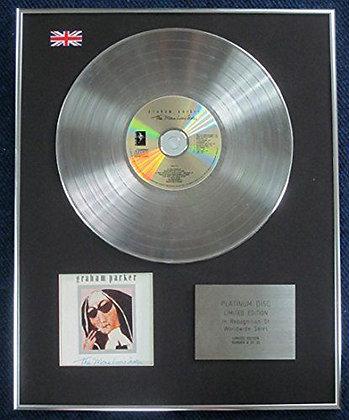 Graham Parker Limited Edition CD Platinum Disc - The Mona Lisa's sister