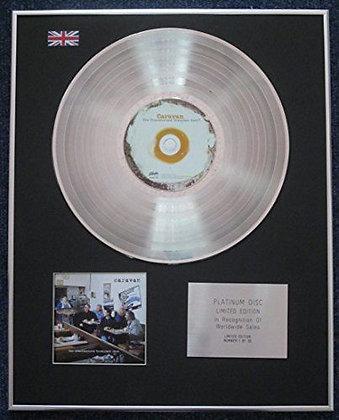 Caravan - Limited Edition CD Platinum LP Disc - The Unauthorised Breakfast Item