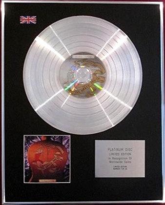 GOLDEN EARRING -CD Platinum Disc - THE NAKED TRUTH