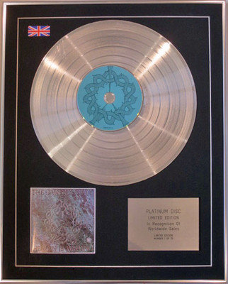 THE DANCE SOCIETY - Limited Edition CD Platinum Disc - HEAVEN IS WAITING