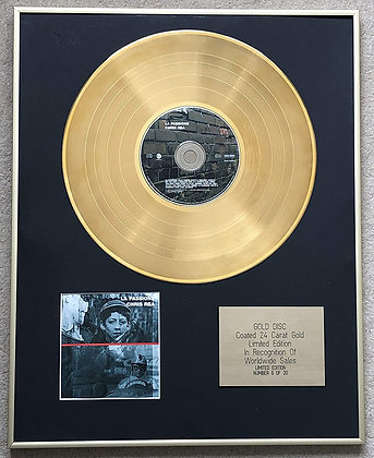 CHRIS REA - Limited Edition CD 24 Carat Gold Coated LP Disc - LA PASSIONE
