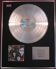 MAGAZINE - CD Platinum Disc - REAL LIFE