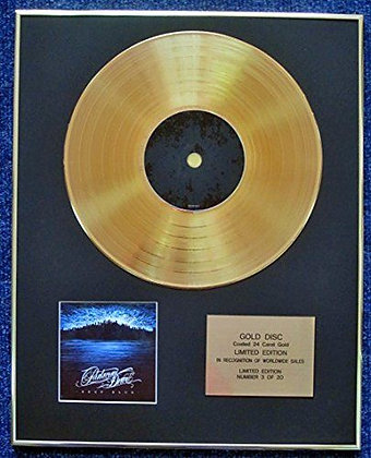Parkway Drive - Limited Edition CD 24 Carat Gold Coated LP Disc - Deep Blue