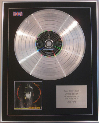 """ENIGMA  - Limited Edition CD Platinum Disc - ENIGMA """"The Limited Edition"""""""