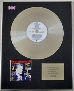 BLOW MONKEYS - Limited Edition CD Platinum Disc - CHOICES