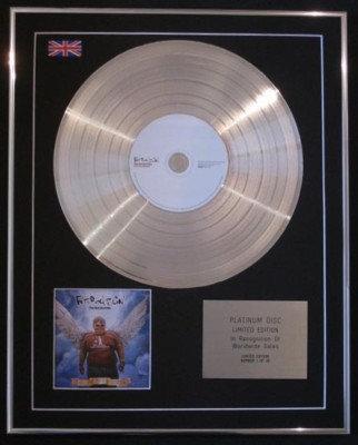 FAT BOY SLIM-Ltd Edtn CD PlatinumDisc-GREATEST HITS
