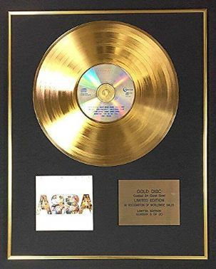 Abba - Exclusive Limited Edition 24 Carat Gold Disc - Absolute