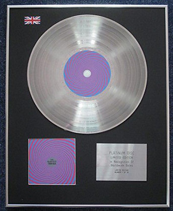 Black Keys - Limited Edition CD Platinum LP Disc - Turn Blue