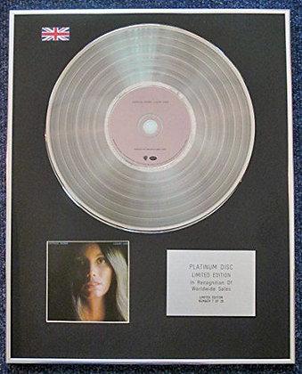 Emmylou Harris - Limited Edition CD Platinum LP Disc - Luxury Liner