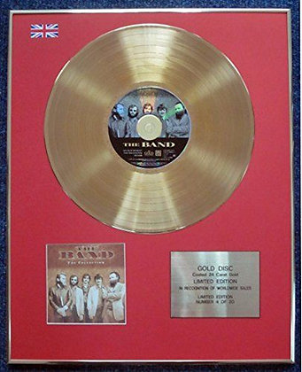 The Band - Limited Edition CD 24 Carat Gold Coated LP Disc - The Collection