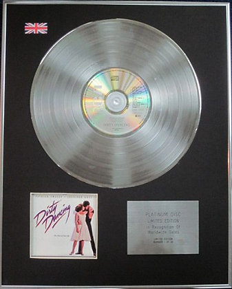 DIRTY DANCING - Limited Edition CD Platinum Disc - ORIGINAL SOUNDTRACK