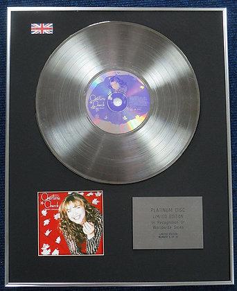 Charlotte Church - Limited Edition CD Platinum LP Disc - Dream a Dream