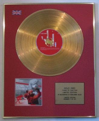 PRIMAL SCREAM-Ltd CD 24 Carat Gold Disc-EXTERMINATOR