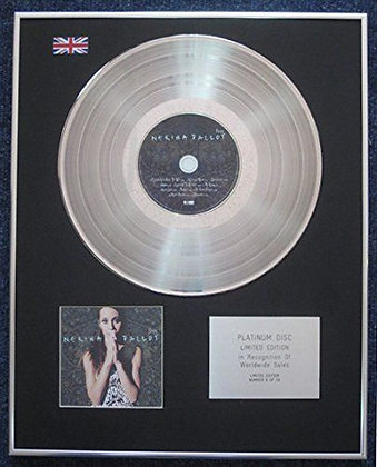Nerina Pallot - Limited Edition CD Platinum LP Disc - Fires
