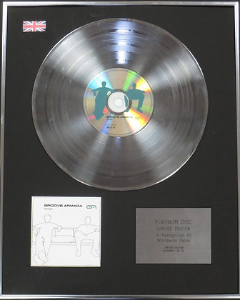 AMANDA GROOVE - Limited Edition CD Platinum Disc - VERTIGO