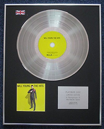 Will Young - Limited Edition CD Platinum LP Disc - The Hits