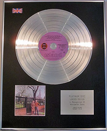 FAIRPORT CONVENTION - Ltd Edtn - CD Platinum Disc - UNHALFBRICKING