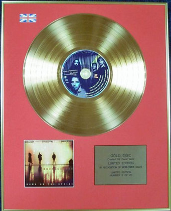SOUNDGARDEN - Ltd Edition CD 24 Carat Coated Gold Disc - DOWN ON THE UPSIDE