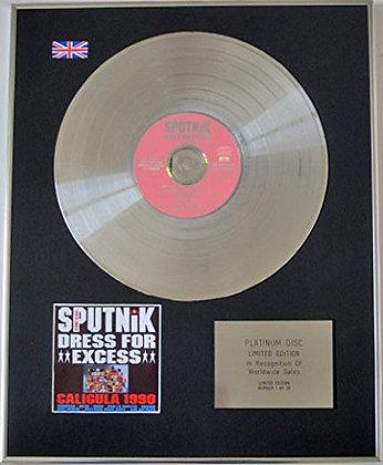 SIGUE SIGUE - CD Platinum Disc - DRESS FOR EXCESS