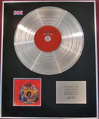 NAZARETH - CD Platinum Disc- RAMPANT