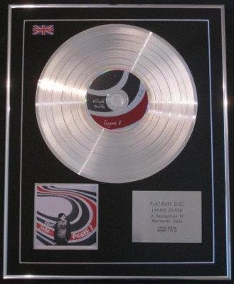 ELLIOT SMITH CD Platinum Disc- FIGURE 8