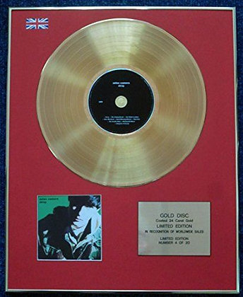 Aztec Camera - Limited Edition CD 24 Carat Gold Coated LP Disc - Stray