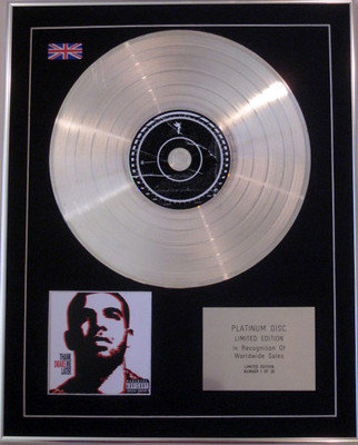 DRAKE - Ltd Edition CD Platinum Disc - THANK ME LATER