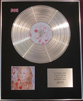 BETTE MIDLER -  CD Platinum Disc - BETTE OF ROSES