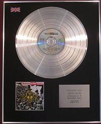 QUEENSRYCHE CD Platinum Disc- OPERATION MINDCRIME
