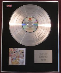 AL STEWART - CD Platinum Disc - YEAR OF THE CAT