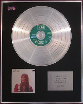 MELANIE -  CD Platinum Disc - GATHER ME
