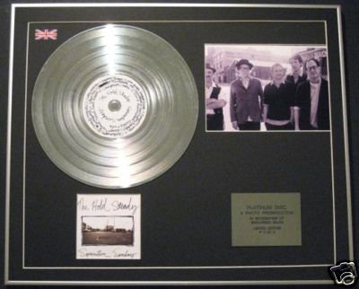 THE HOLD STEADY- Platinum Disc+Photo-SEPARATION SUNDAY
