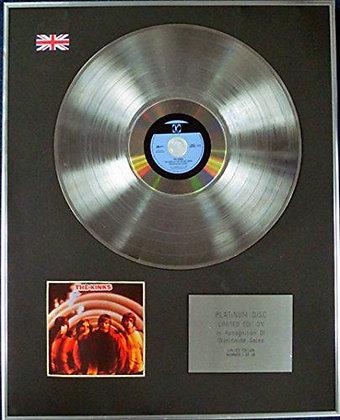 THE KINKS - CD Platinum Disc - VILLAGE GREEN PRESERVATION SOCIETY