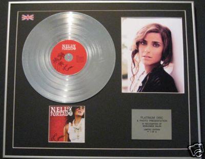 NELLY FURTADO - CD Platinum Disc+Photo - LOOSE