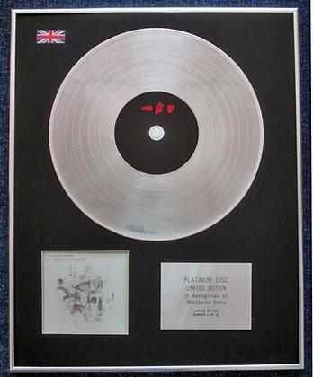 FRIGHTENED RABBIT - CD Platinum LP Disc -THE MIDNIGHT ORGAN FIGHT