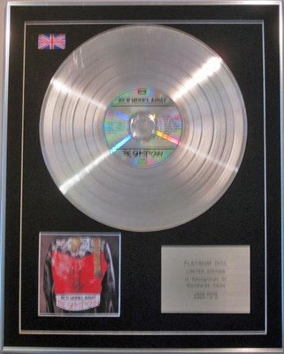 New Model Army  - Limited Edition Cd  Platinum Disc  - The Ghost Of Cain