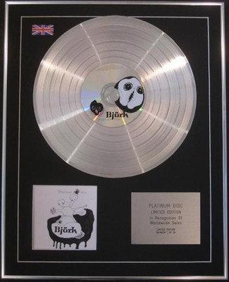 BJORK  - CD Platinum Disc - GREATEST HITS
