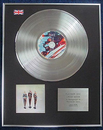 Take That - Limited Edition CD Platinum LP Disc - III