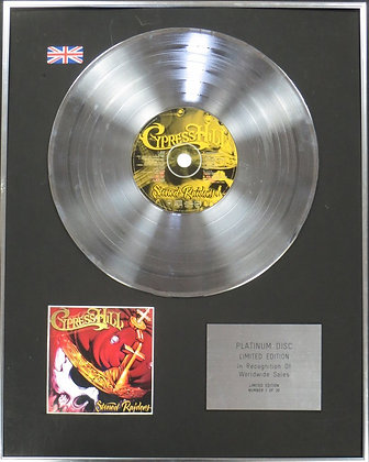 CYPRESS HILL - Limited Edition CD Platinum Disc - THUNDERSTORM
