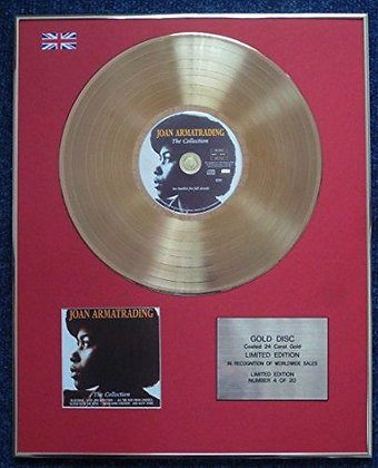 Joan Armatrading - CD 24 Carat Gold Coated LP Disc -The Collection