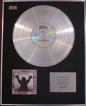 JOHN LEE HOOKER -  CD Platinum Disc - THE HEALER