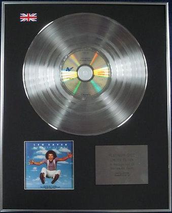 LEO SAYER - Limited Edition CD Platinum Disc - ENDLESS FLIGHT