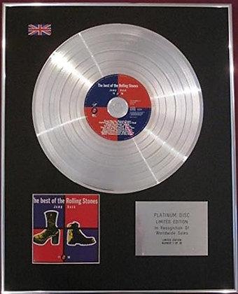 ROLLING STONES - CD Platinum Disc - BEST OF, JUMP BACK, 71-93