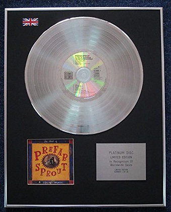 Prefab Sprout - Limited Edition CD Platinum LP Disc - The Best of