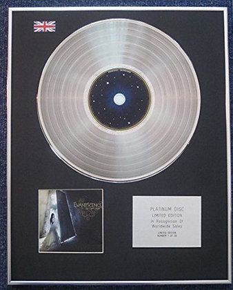 Evanescence - Limited Edition CD Platinum LP Disc - The Open Door