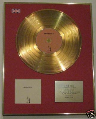 DAMIEN RICE - Ltd 24 Carat CD Gold Disc - O