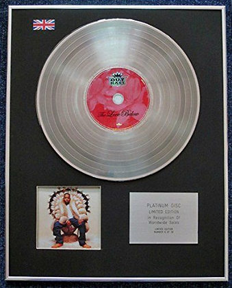 Outkast - Limited Edition CD Platinum LP Disc - The Love Below