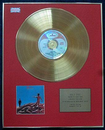 Rush - Limited Edition CD 24 Carat Gold Coated LP Disc - Hemispheres
