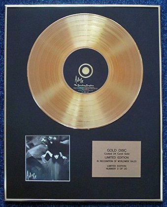 Smashing Pumpkins - Limited Edition CD 24 Carat Gold Coated LP Disc - Adore